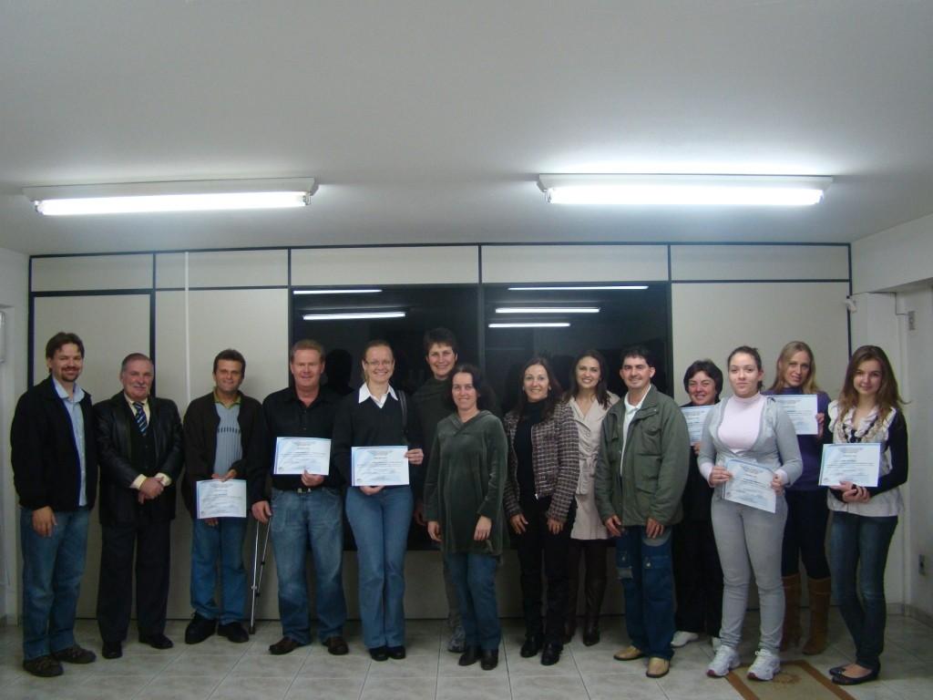 Certificado Pomerode 2011
